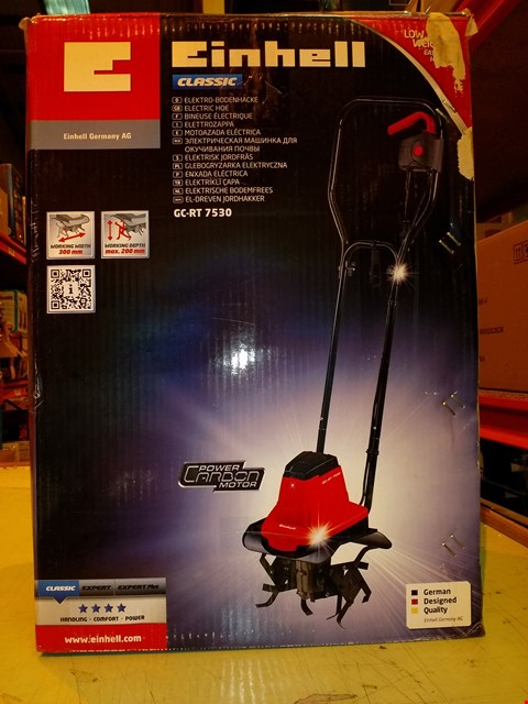 Lot 8344 EINHELL CLASSIC ELECTRIC HOE