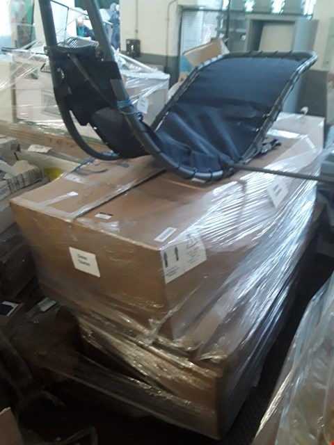 Lot 349 PALLET OF ASSORTED FLAT PACK FURNITURE/PARTS