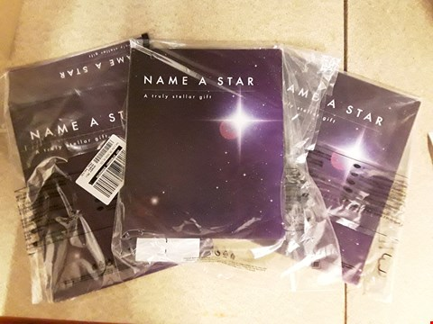Lot 2485 LOT OF 3 NAME A STAR GIFTS RRP £62