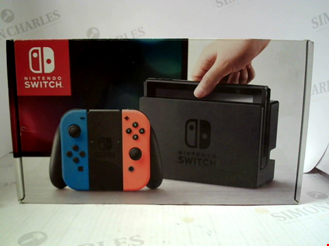 Lot 3085 NINTENDO SWITCH GAMES CONSOLE