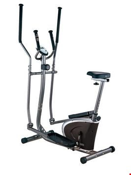 Lot 1023 DYNAMIX 2 IN 1 MAGNETIC ELLIPTICAL STRIDER (1 BOX) RRP £189.99