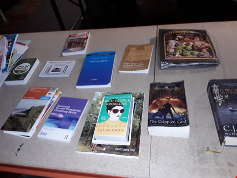Lot 6 A LOT OF APPROXIMATELY 25 ASSORTED BOOKS TO INCLUDE,  RICH PEOPLE PROBLEMS , LAMENTATION AND HOW TO BE A WOMAN ETC