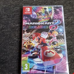 Lot 2506 MARIOKART 8 DELUXE NINTENDO SWITCH GAME