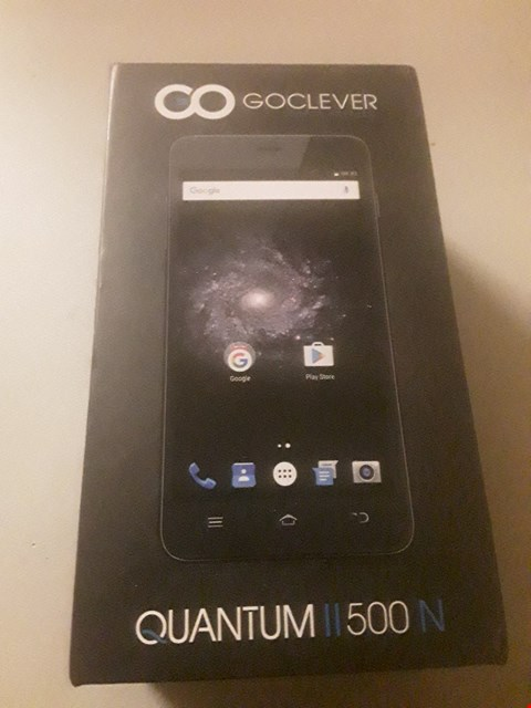 Lot 4011 BOXED GOCLEVER QUANTUMII 500N MOBILE PHONE
