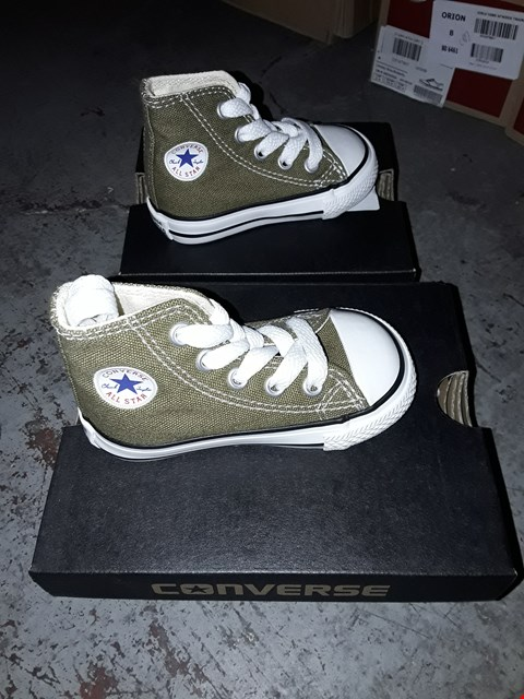 Lot 2154 LOT OF 4 ASSORTED BRAND NEW BOYS CONVERSE TRAINERS ASSORTED SIZES  RRP £80