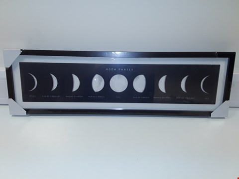 Lot 4283 OLIVER BONAS MOONPHASES PICTURE 93X27CM