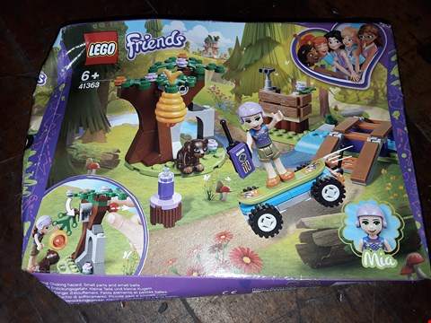 Lot 5086 LEGO FRIENDS 41363 MIA'S FOREST ADVENTURE