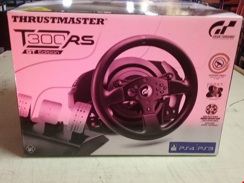 Lot 4123 THRUSTMASTER T300 RS GT EDITION FOR PLAYSTATION