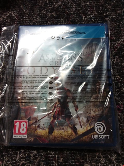 Lot 7173 ASSASSIN'S CREED ODYSSEY FOR PLAYSTATION 4  RRP £59.99