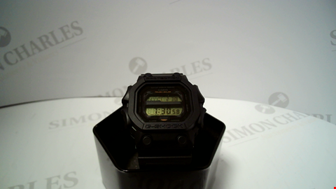 Lot 18049 DESIGNER CASIO G-SHOCK BLACK ACRYLIC STRAP WRISTWATCH