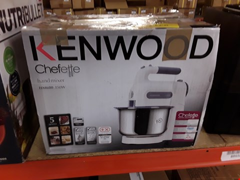 Lot 3015 KENWOOD CHEFETTE HAND MIXER
