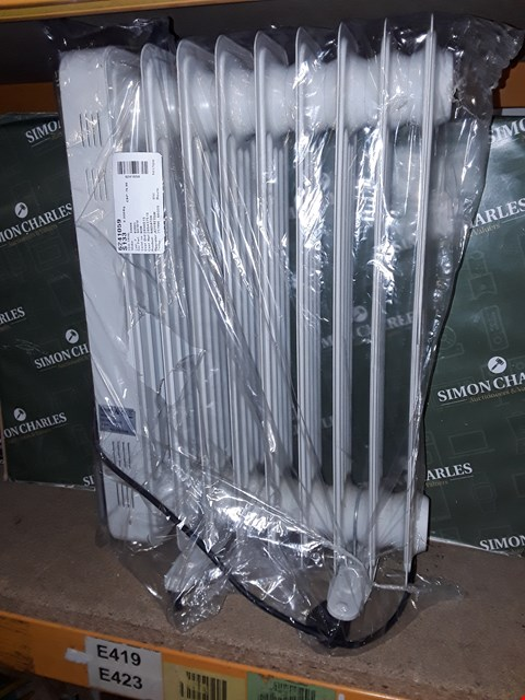 Lot 4281 SWAN SH1010 2KW OIL FILLED RADIATOR WITH TIMER RRP £49.99