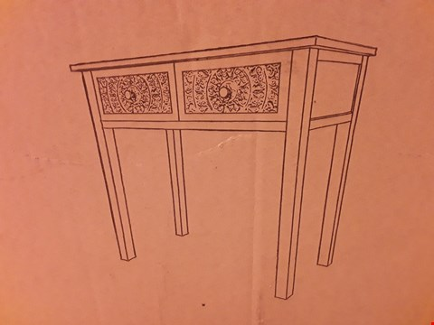 Lot 503 BOXED DRESSING TABLE WHITE