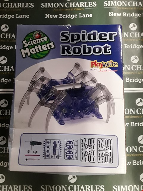 Lot 747 BOXED SCIENCE MATTERS SPIDER ROBOT