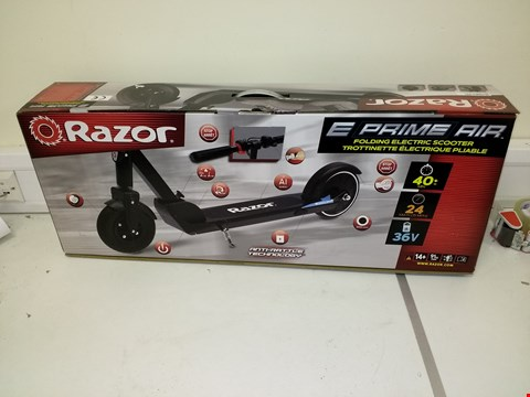 Lot 9221 RAZOR E-PRIME AIR ELECTRIC FOLDING SCOOTER RRP £599.99