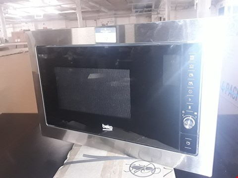 Lot 92 BEKO INTEGRATED MICROWAVE WITH GRILL Model MGB25332 BG ( unboxed )
