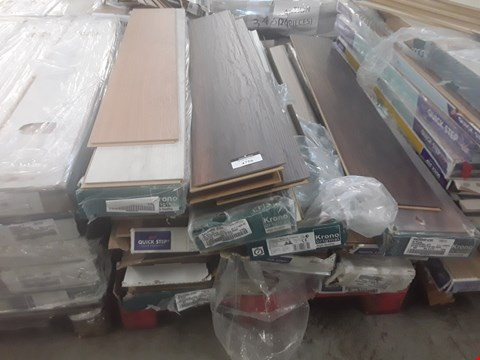 Lot 97 PALLET OF APPROXIMATELY 20 PACKS OF LAMINATE FLOORING