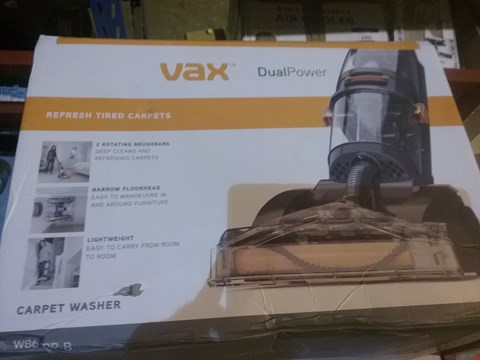 Lot 2798 Vax Dual Power Carpet Cleaner, 2.7 Litre