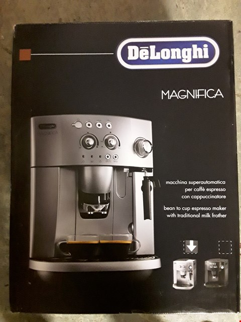 Lot 333 DELONGHI MAGNIFICA BEAN TO CUP COFFEE MACHINE