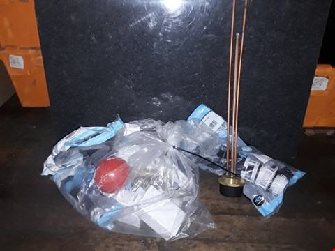 Lot 3341 SELECTION OF PLUMBING SUPPLIES TO INCLUDE FLUSHING SYSTEMS, VALVES
