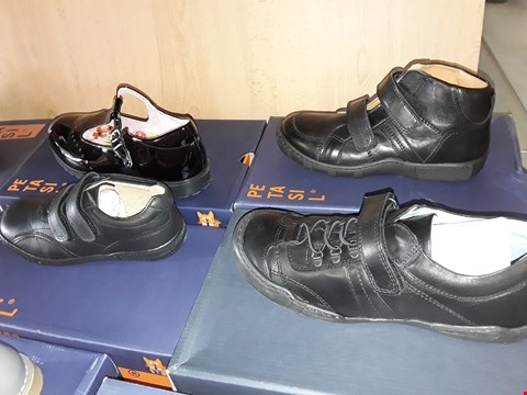 Lot 12808 LOT OF APPROXIMATELY 10 ASSORTED PAIRS OF PETASIL CHILDRENS SHOES