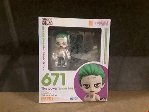 Lot 3011 SUICIDE SQUAD COLLECTABLE FIGURE JOKER
