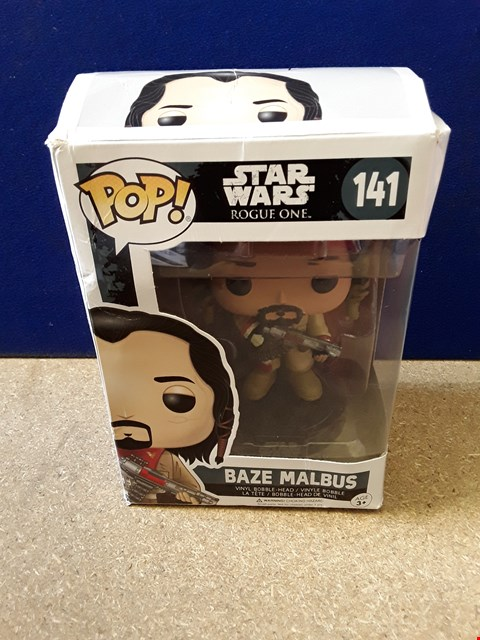 Lot 5094 BOXED POP! STAR WARS ROGUE ONE BAZE MALBUS
