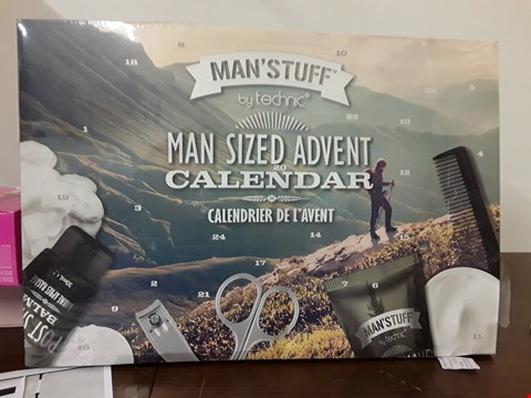 Lot 7087 BOXED TECHNIC MAN'S STUFF MAN SIZED ADVENT CALENDAR