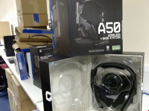 Lot 15411 ASTRO A50 WIRELESS HEADPHONES AND BASE STATION FOR XBOX ONE