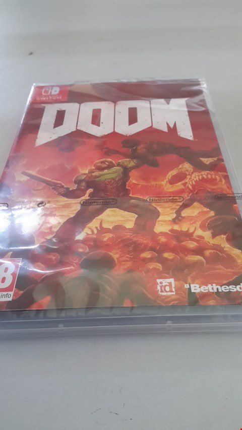 Lot 9014 DOOM FOR NINTENDO SWITCH