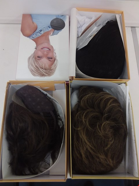 Lot 587 LOT OF 4 ASSORTED WIGS
