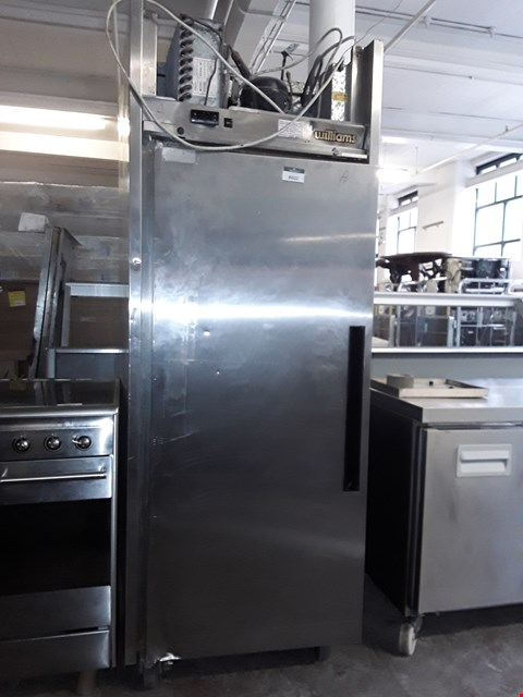 Lot 8022 COMMERCIAL STAINLESS STEEL WILLIAMS STAND TALL REFRIGERATION UNIT