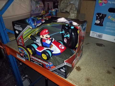 Lot 495 LOT OF 3 GRADE 1 ITEMS TO INCLUDE TOY SMART MICROWAVE, MASTER A MILLION RINGERZ AND NINTENDO MARIO KART POWER RACERS MARIO RRP £43.00
