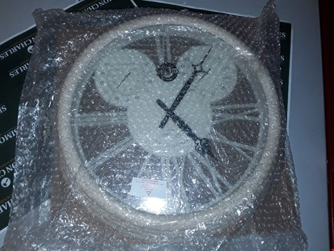 Lot 7542 BOXED BRAND NEW EXETER WALL CLOCK & THERMOMETER  RRP £40.00