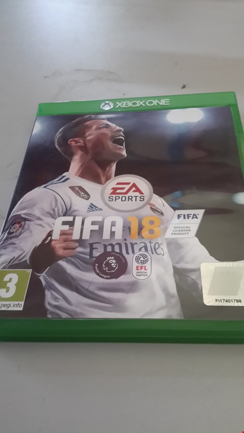Lot 9032 FIFA 18 FOR XBOX ONE