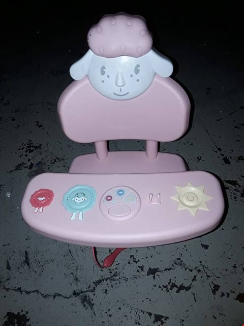Lot 2245 BABY ANNABELL LUNCHTIME TABLE RRP £44.99