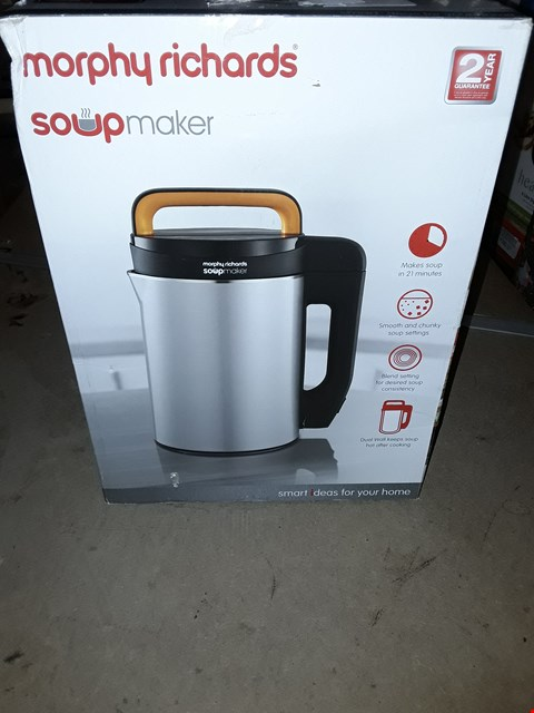 Lot 700 MORPHY RICHARDS 1.6L SOUPMAKER