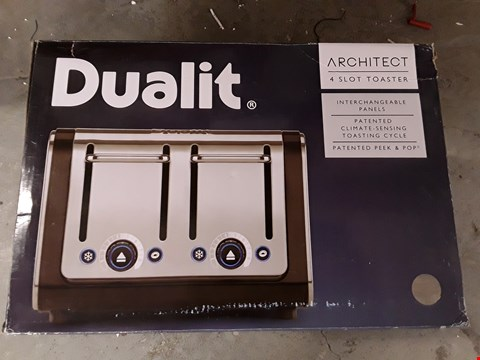 Lot 455 DUALIT ARCHITECT 4 SLICE TOASTER