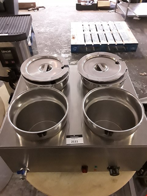 Lot 2111 4 POT WET BAIN MARIE
