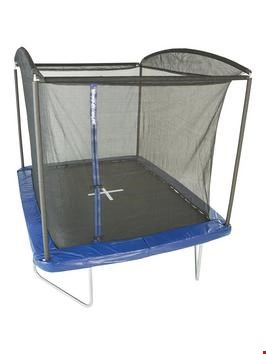 Lot 42 SPORTPOWER 12X8FT RECTANGULAR TRAMOPLINE WITH EASY STORE ENCLOSURE (2 BOXES) RRP £219.99