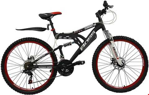 Lot 6004 BOXED DOMINATOR DUAL SUSPENSION MENS MOUNTAIN BIKE RRP £499.99