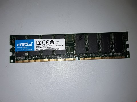 Lot 510 CRUCIAL DDR4 32GB MEMORY