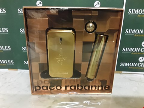 Lot 12034 SEALED PACO RABANNE STYLE 1 MILLION 3PC BOXSET
