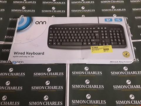 Lot 8382 BOXED WIRED KEYBOARD