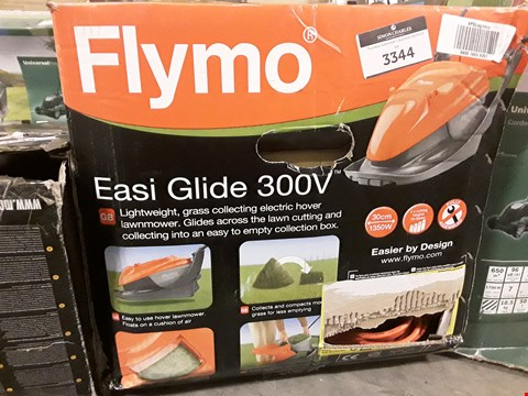 Lot 3344 BOXED FLYMO EASI GLIDE 300V LAWNMOWER