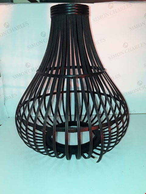 Lot 11 K BY KELLY HOPPEN BAMBOO LAMPSHADE