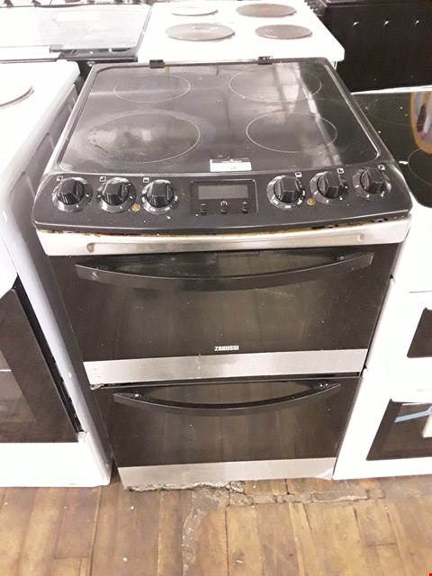 Lot 52 ZANUSSI TWIN CAVITY ELECTRIC COOKER