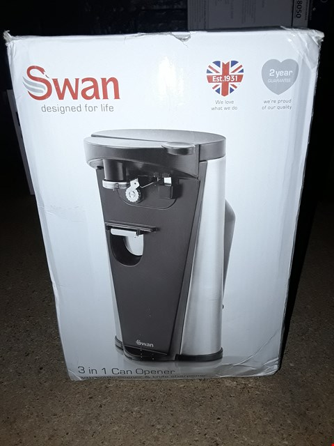 Lot 8055 SWAN 3 IN 1 CAN OPENER