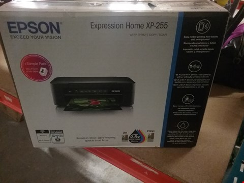 Lot 12801 EPSON EXPRESSION HOME XP-255 PRINTER