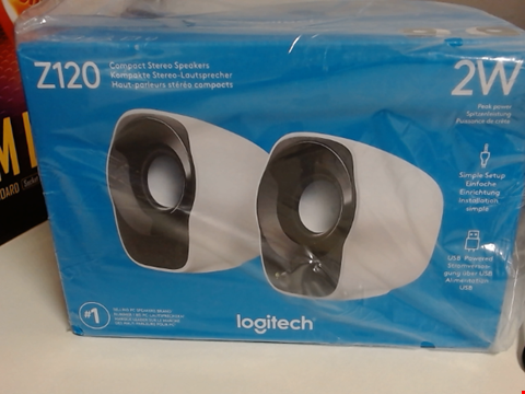 Lot 6504 LOGITECH Z120 COMPACT STEREO SPEAKERS